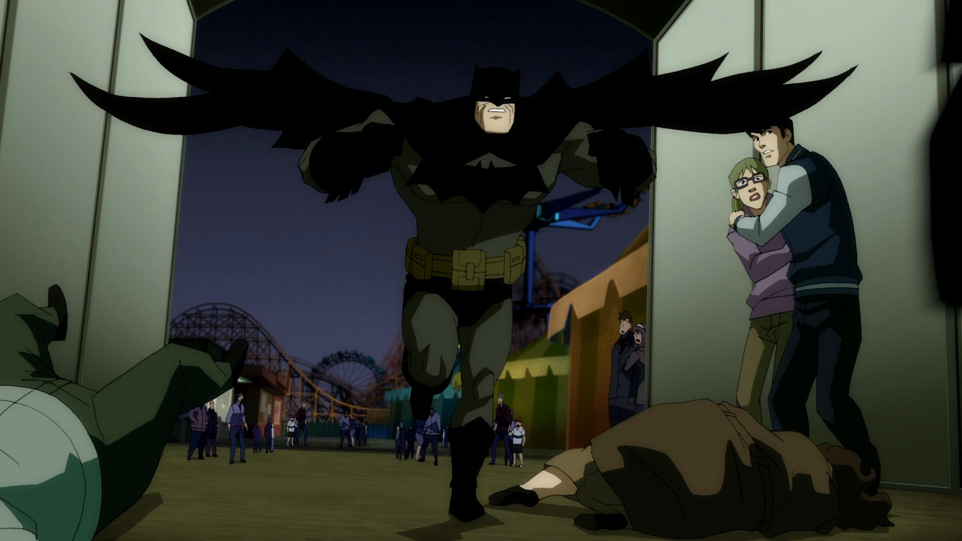 First Photo From Batman The Dark Knight Returns Part 2