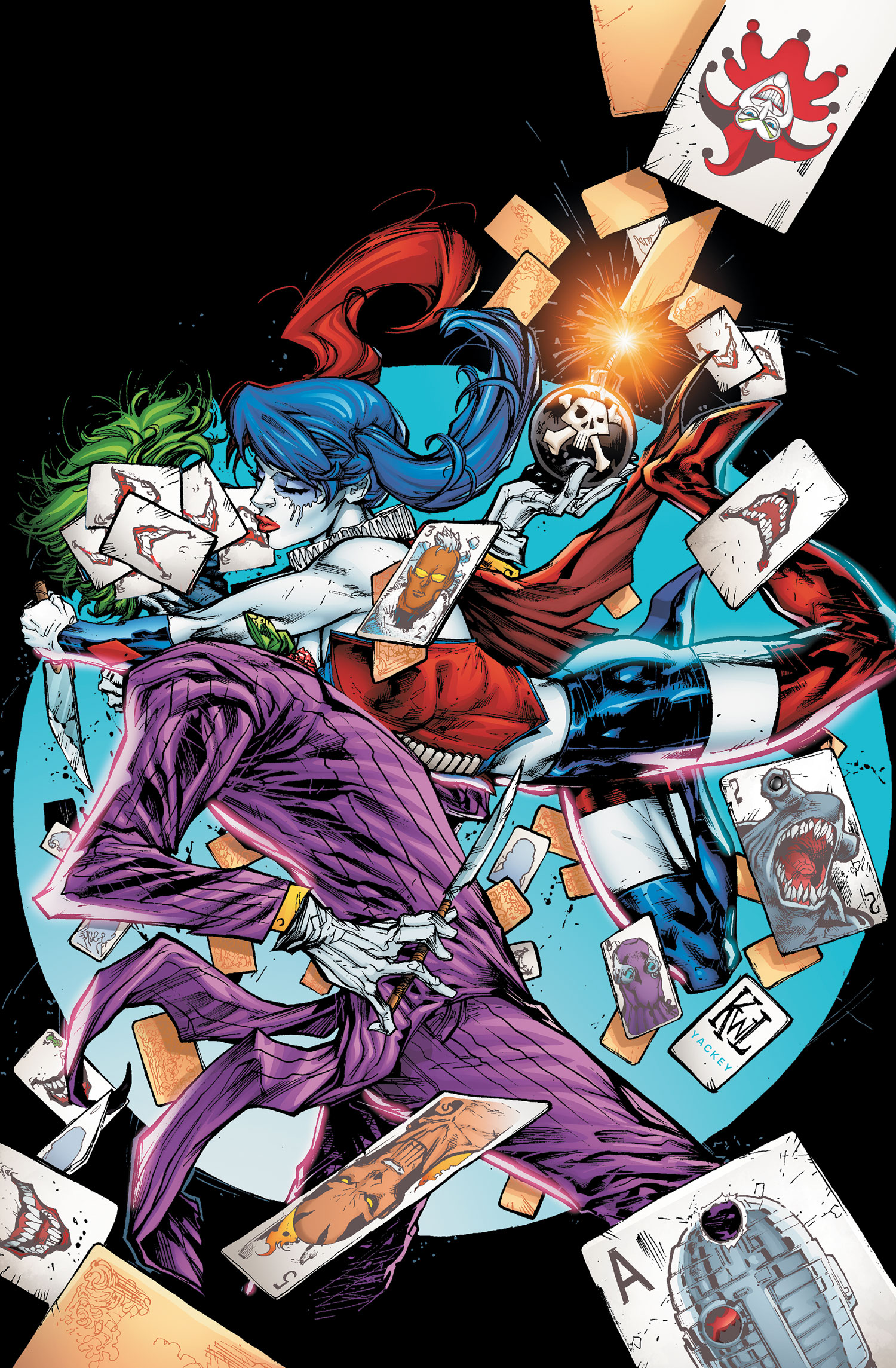 New 52 Harley Quinn And Joker New 52 - Suicide Squad...