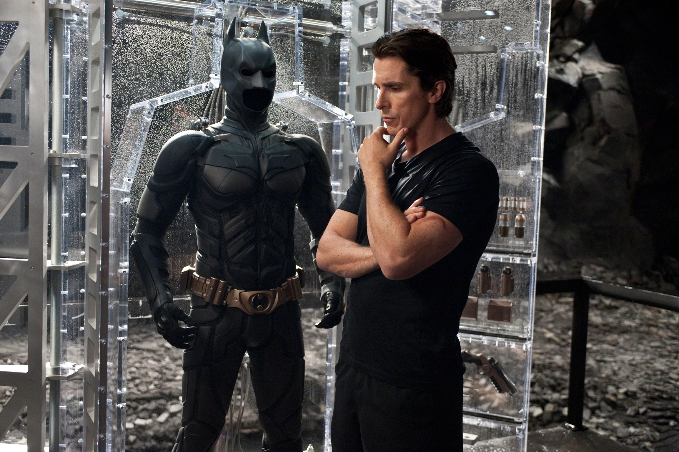 Christian Bale wanted ... Christian Bale Batman