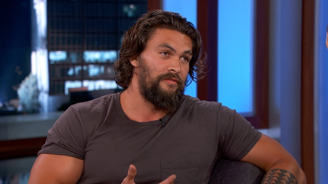 Jason Momoa talks Aquaman on 'Jimmy Kimmel Live' (video ... Ben Affleck Split