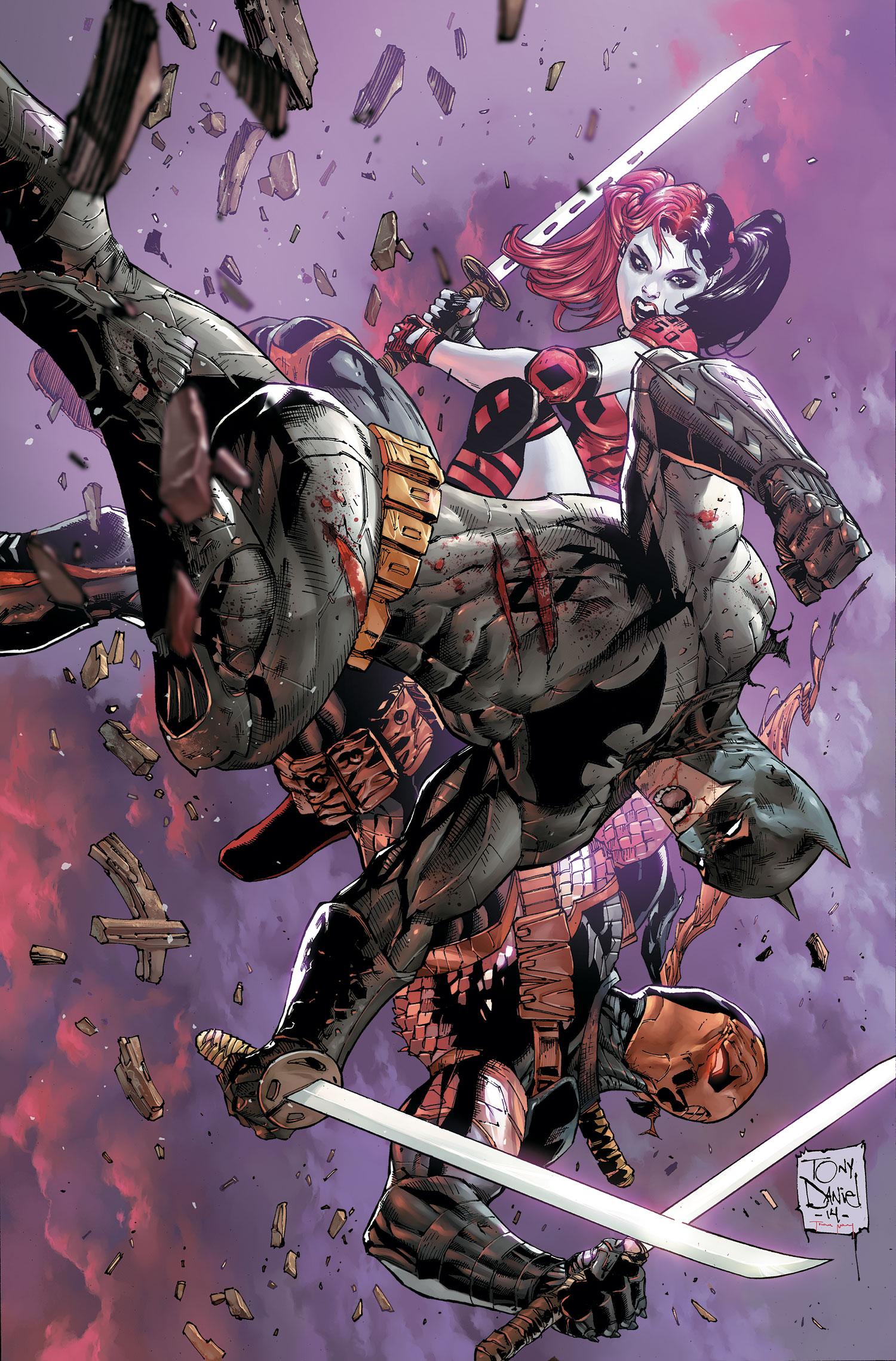 Deathstroke #5 review - Batman News