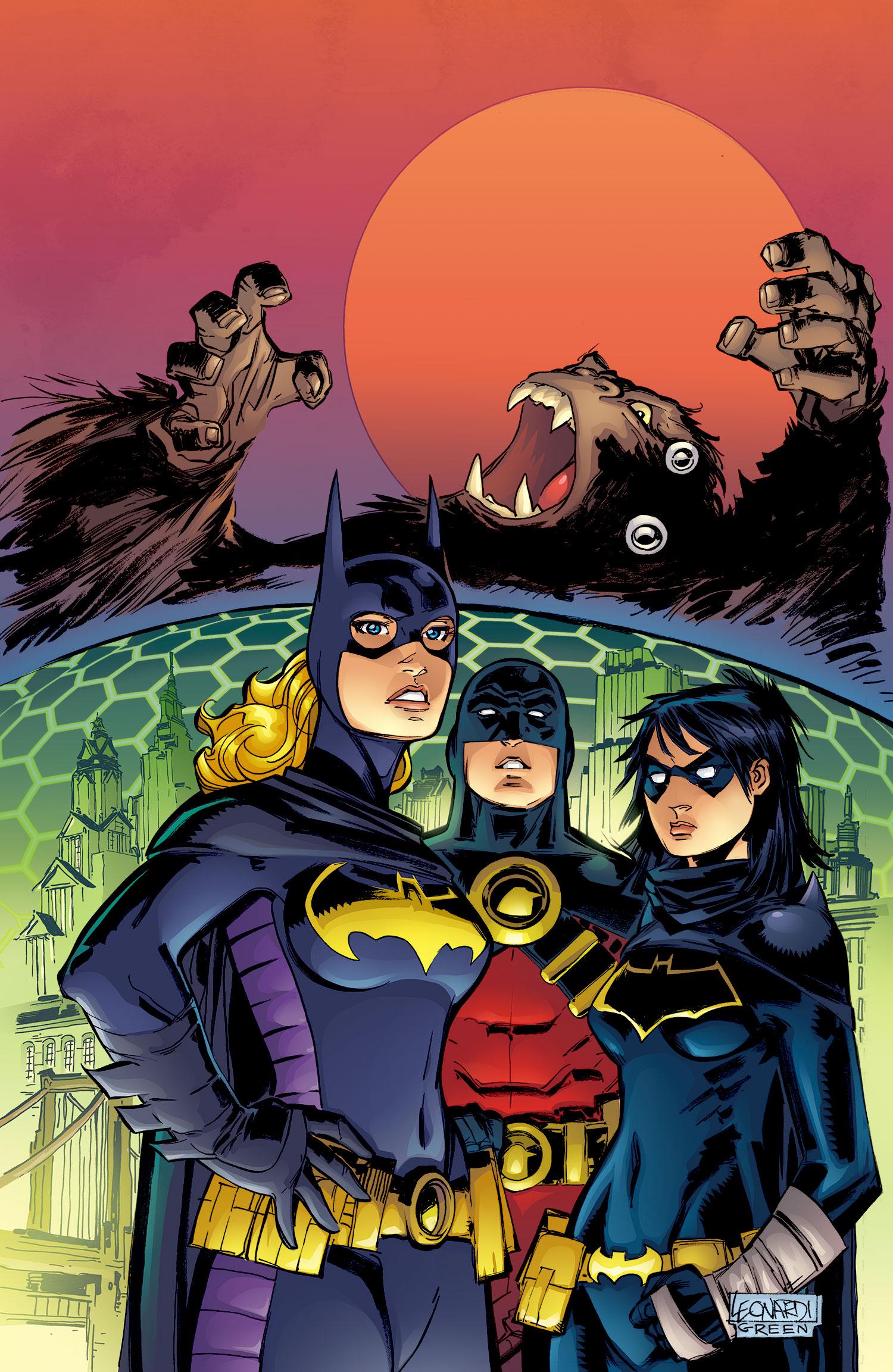 Batgirl Defeated Batgirl defeated
