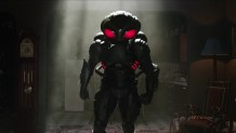 """'Aquaman' director James Wan on balancing practicality with a """"super cool"""" helmet for Black Manta"""