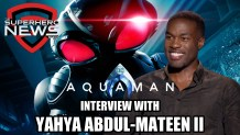 Aquaman Interview: Yahya Abdul-Mateen II on Black Manta, Big Helmet Challenges, and Sequel Hopes