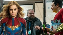 "'Shazam!' director hopes 'Captain Marvel' makes ""all the money"" and shuts up trolls"