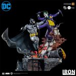 Iron Studios puts Batman and Joker into battle in new statue