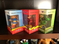 Diamond Select Toys DC Vinimates Flash, Supergirl, and Green Arrow review